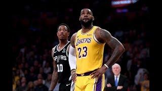 Los Angeles Lakers vs San Antonio Spurs - 1st Qtr Highlights | November 3, 2019-20 NBA Season