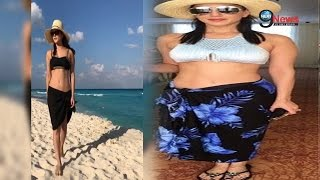 पति के साथ इस अदांज में नज़र आई सनी लियोन | Sunny Leone Sizzles With Husband