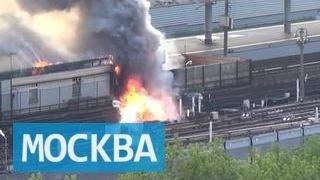 Пожар, вызвавший сбой в московском метро, потушен