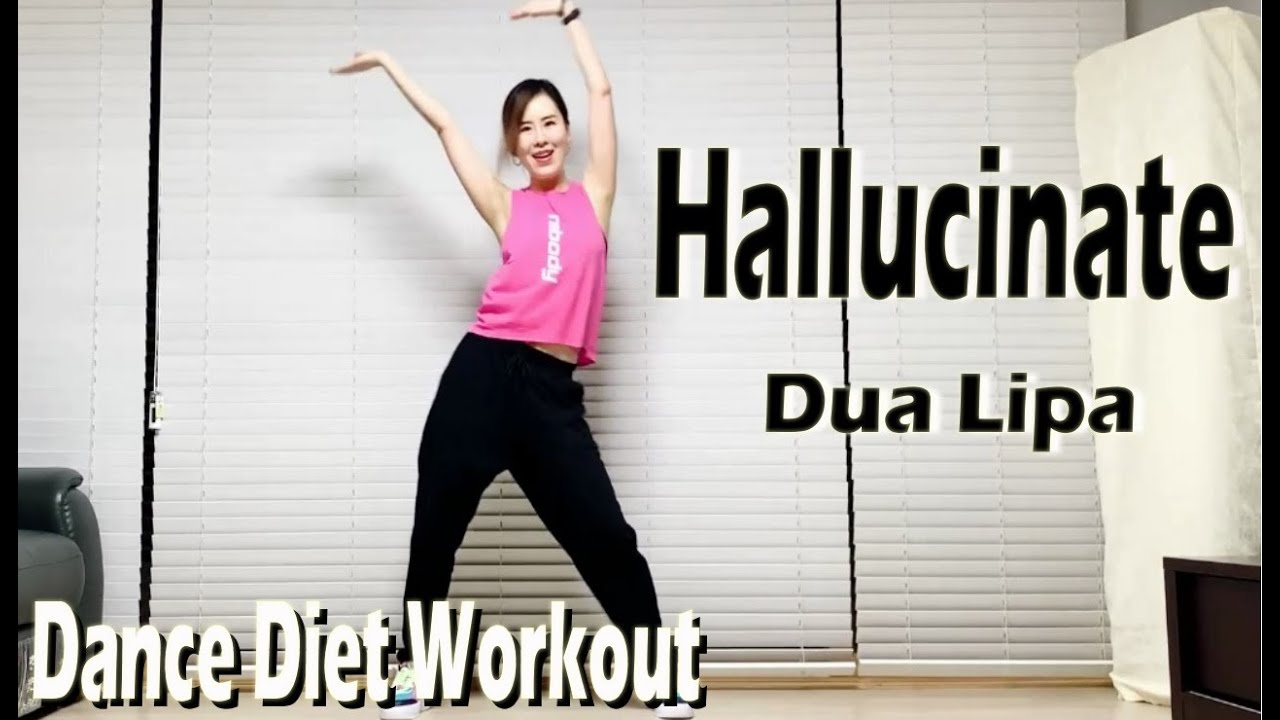 Hallucinate - Dua Lipa   Dance Diet Workout   댄스다이어트   Choreo by Sunny   Cardio   홈트 