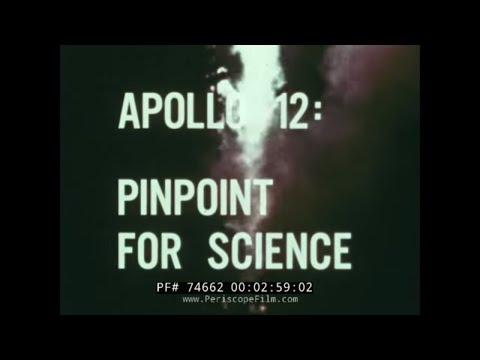 "NASA APOLLO 12 MISSION ""PINPOINT FOR SCIENCE"" FILM 74662"