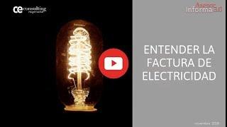 Claves para entender la factura eléctrica | Asesor Informa 3.0