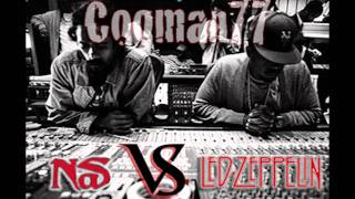 Nas vs Led Zeppelin - Stairway to Hip-Hop Heaven (Cooman77 Remix)