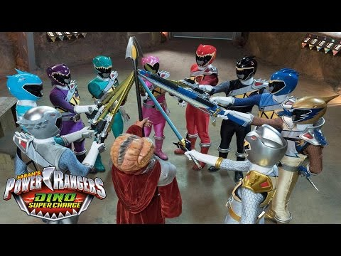 Power Rangers Dino Super Charge - Official Final Opening Theme Song | Episode 18-20 / Silver Ranger