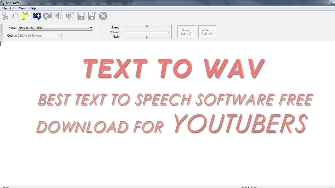 Text to speech download wav free | Download free Text To