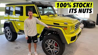 BUYING THE INSANE MERCEDES G550 4X4! I'M SO IN LOVE! (1 of 300!)