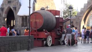 Butterbeer Cart At The Wizarding World Of Harry Potter Islands Of Adventure Hd 1080p