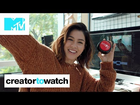 Megan Batoon's TOP 5 Work Space Essentials + Office Tour 👩‍💻 | MTV Creator To Watch