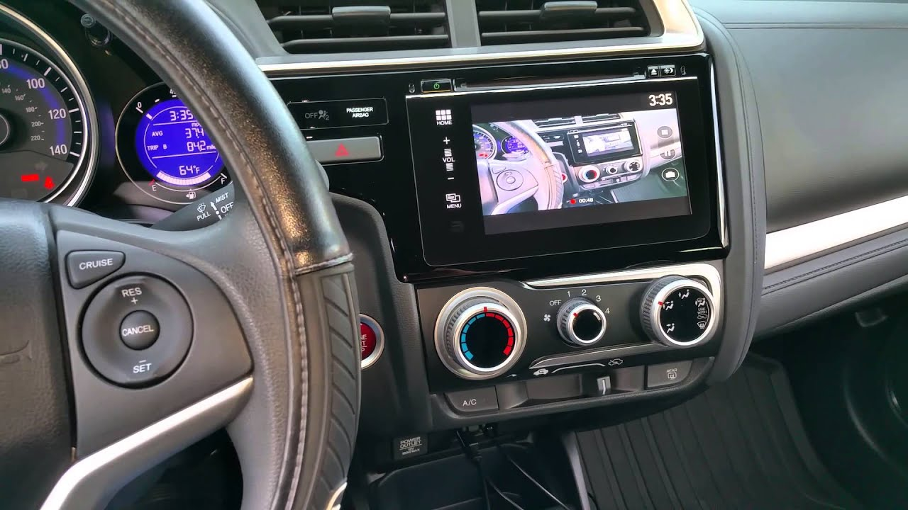2015 honda fit ex hdmi mirroring while driving safety override [ 1280 x 720 Pixel ]
