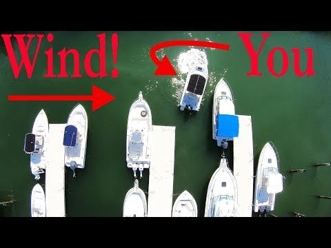 How To Dock A Boat Correctly!