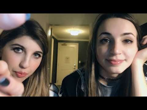 gibi-&-frivvi-take-care-of-you-at-a-party-[asmr]