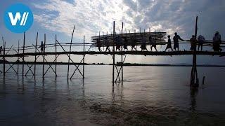 Myanmars Bambusbrücke - Ein Dorf packt an (360° - GEO Reportage)