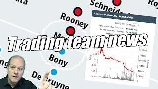 Betfair football trading - Trading team news