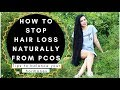 How To Stop Hair Fall From PCOS  & Tips For Balancing Your Hormones Naturally- Beautyklove