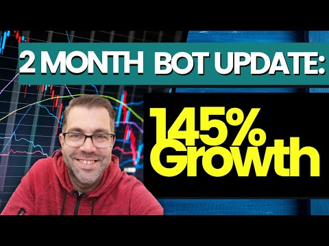 Cryptohopper 2 Month Update – 145% Gain – Autobot Trading Strategy App