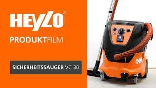 Industriesauger VC 30 [Heylo]: Wie bediene ich einen Bau-Entstauber (BG BAU gefördert)?