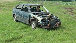 Platzmangel bei Dumm Tüch? Opel Astra schrotten!