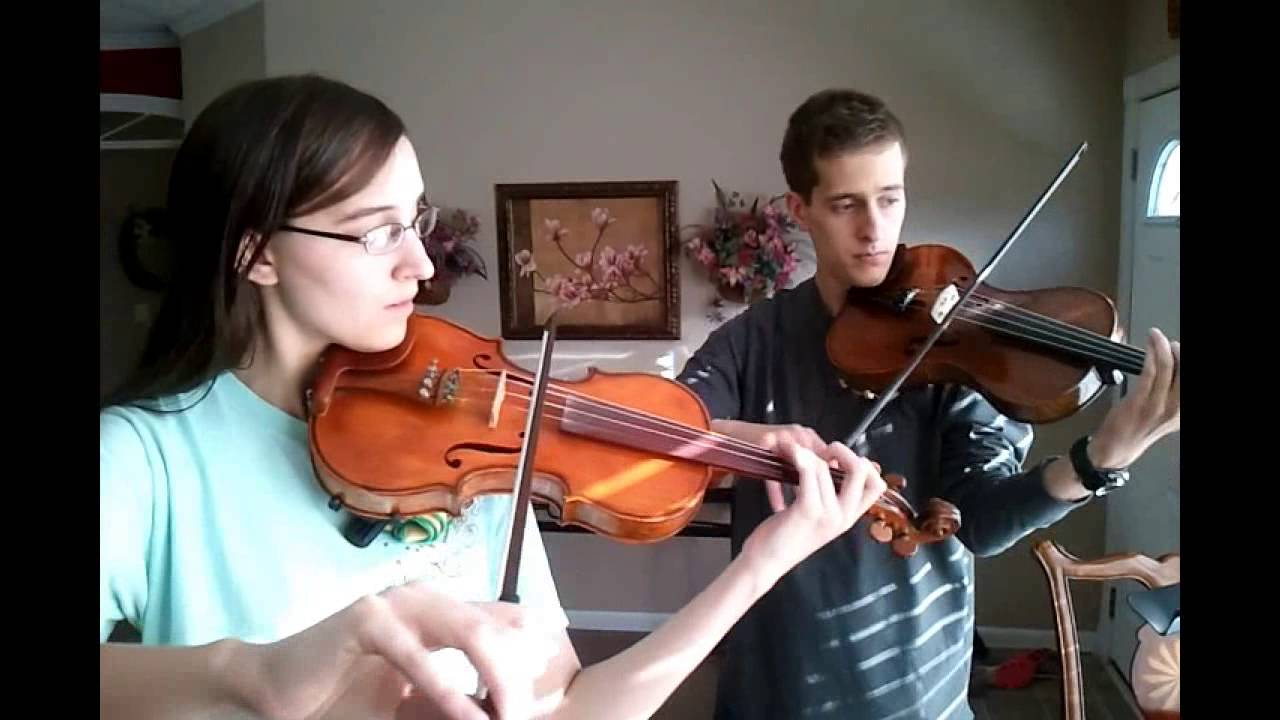 Amazing Grace - Violin Viola Duet