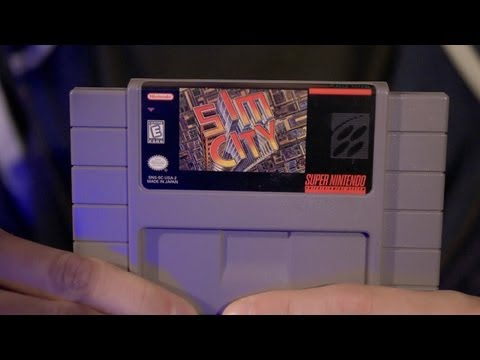 SimCity (SNES Video Game) with James Rolfe & Mike Matei