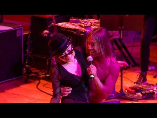 4048c54e5dbd4 Rolling Stone · Yoko Ono e Iggy Pop vão lançar dueto gravado em 2010