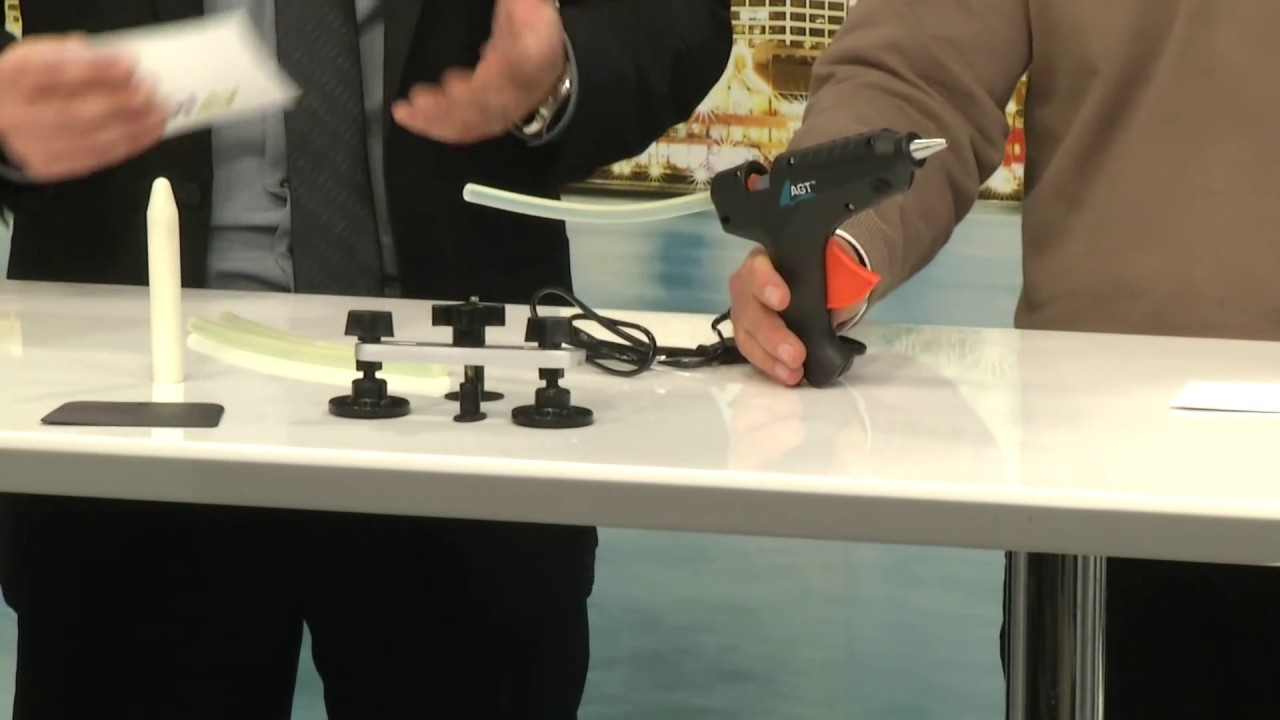 AGT Reparatur-Set für Windschutzscheiben - YouTube