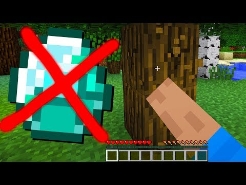 TESTED: Is It Possible To Beat Minecraft Without DIAMONDS?