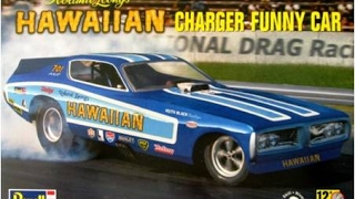 How to Build the Hawaiian Charger Funny Car 1:16 Scale Revell Model Kit #85-4082 Review