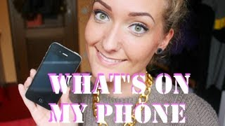 What's on my phone | TAG