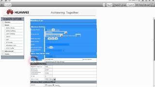 شرح طريقة تشفير ويفي مودمHG520B.wmv