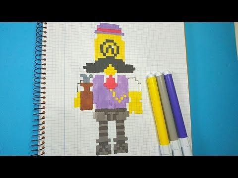 Como Dibujar a BARLEY de BRAWL STARS | Pixel Art Tutorial thumbnail
