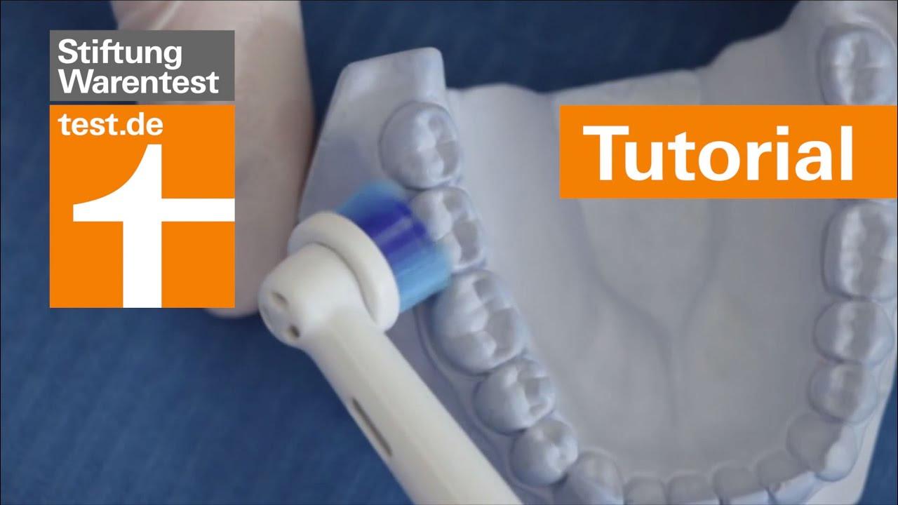 Tutorial: Richtig Zähne putzen - per Hand und elektrisch ...