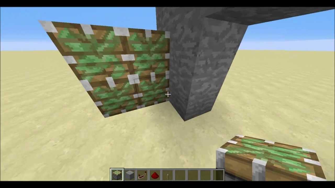 MineCraft Redstone Tutorial 2x2 Jeb Door (Piston door) & MineCraft Redstone Tutorial: 2x2 Jeb Door (Piston door) - YouTube pezcame.com