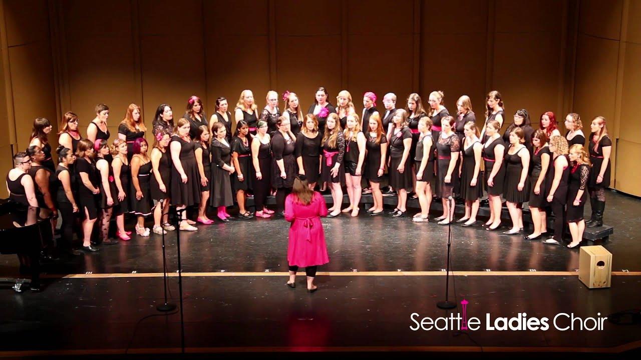 Seattle Ladies Choir: Chandelier (Sia) - YouTube