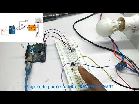 Tutorial 48: Arduino Controlled Night Light  (Engineering projects with PRAVEEN DEHARI in hindi )