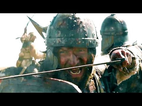 Viking ( Russian Movie 2017 ) [ Fighting Clip - Russian Bogatyrs Fights The Vikings ]
