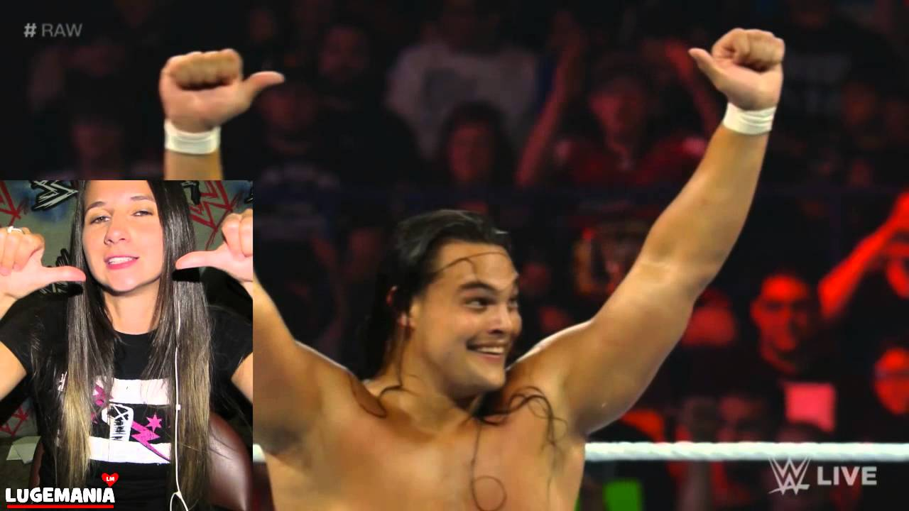 WWE Raw 7/6/15 Dean Ambrose vs Bo Dallas