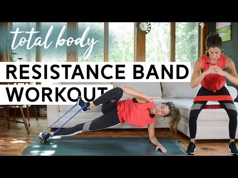 Total Body Resistance Band Workout (Circuits + AMRAP Blasts)