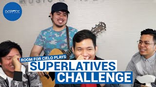 #IvoryLive: Room for Cielo plays the Superlative Challenge
