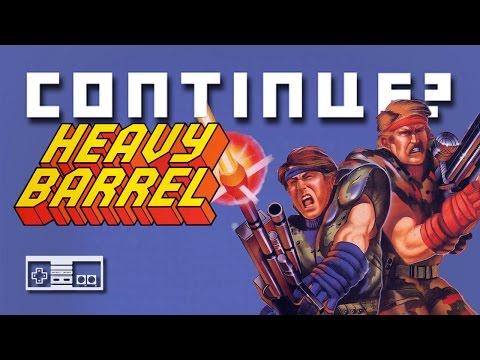 Heavy Barrel (NES) - Continue?