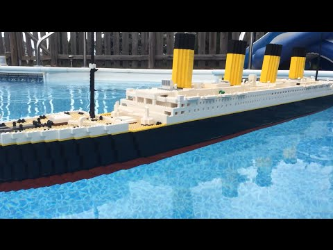 Floating LEGO Titanic Model 【7 foot model】