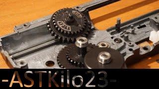 AirsoftPeak - SHS 12:1 High Speed Gear Set   -ASTKilo23-