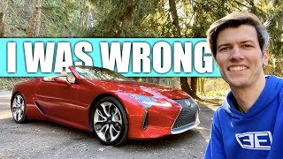 I Was Wrong About The Lexus LC500 - The Numbers Don't Matter