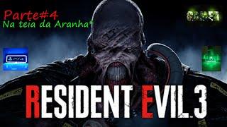 Resident Evil 3 Remake Parte# 4 Na teia da Aranha #leoterminator