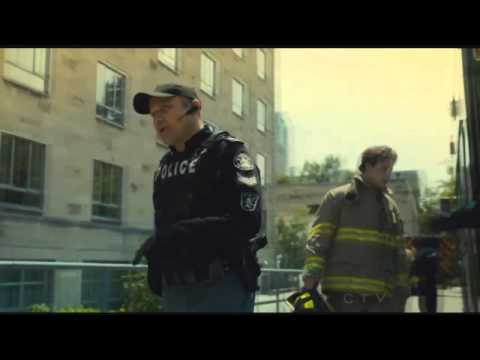 "Flashpoint ""Dirty Bomb"" Episode w/ Radiation Hazmat Suits"