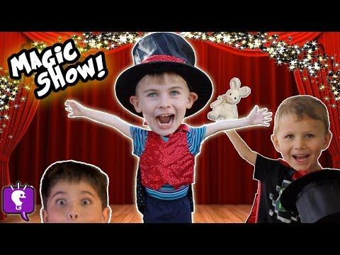 Download Youtube: HobbyKadabra Silly Kids Magic Show! Tricks + Funny Assistant HobbyKidsTV