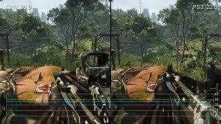Crysis 3: Xbox 360/PS3 Gameplay Frame-Rate Tests