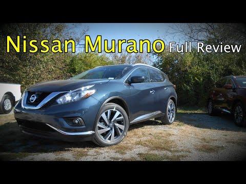 2017 Nissan Murano: Full Review   S, SV, SL, Platinum & Hybrid