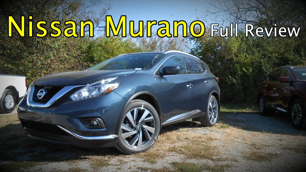 2017 nissan murano full review s sv sl platinum hybrid youtube. Black Bedroom Furniture Sets. Home Design Ideas