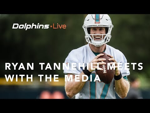Dolphins Live: Ryan Tannehill meets with the media