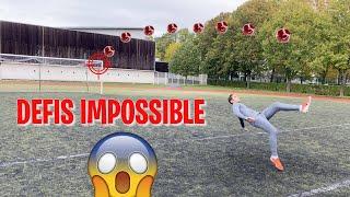 DÉFIS TECHNIQUE IMPOSSIBLE SPÉCIALE FOOTBALL PROFESSIONNEL  !